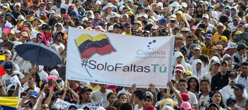 Creemos Alianza Ciudadana llama a venezolanos a integrarse a esta red de acción social